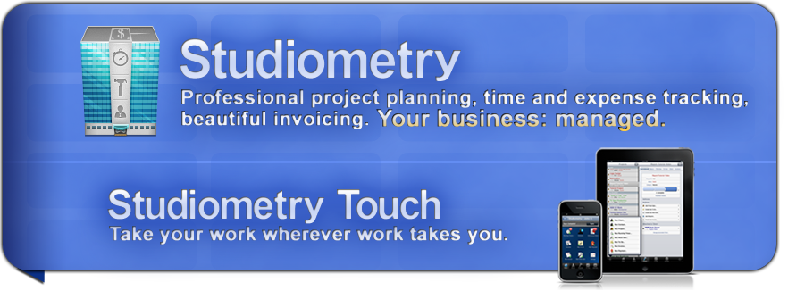 Studiometry: Business Manager Extraordinaire