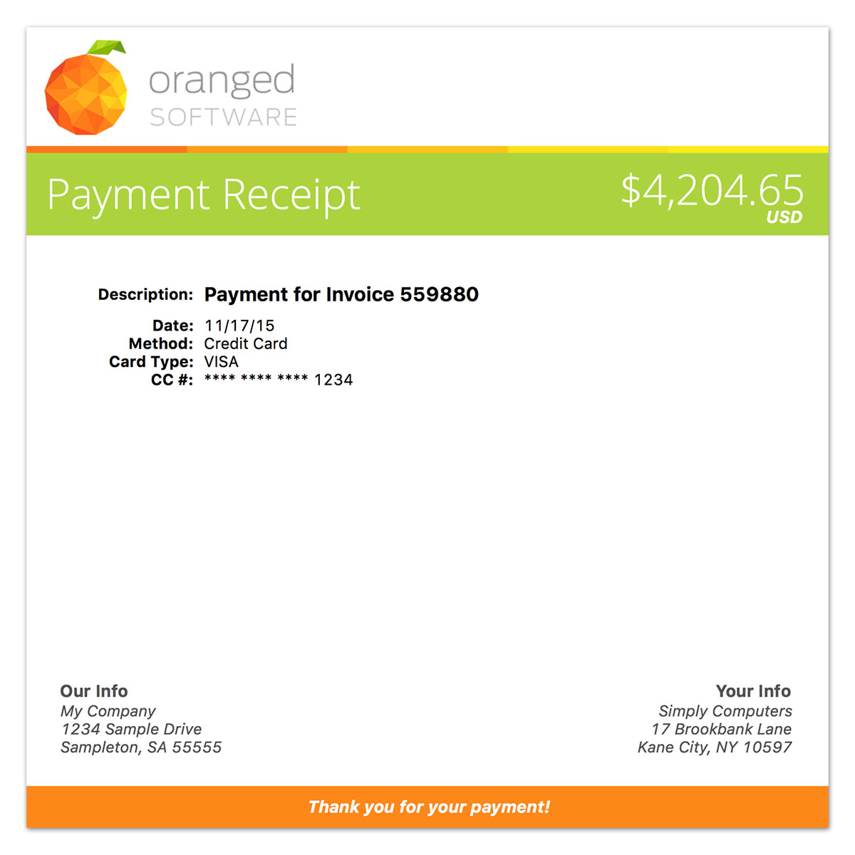 studiometry 12 1 adds customizable receipt templates oranged